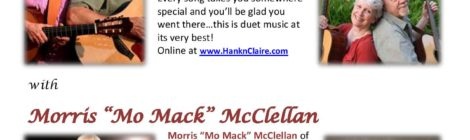 Hank & Claire and Mo Mack in Concert